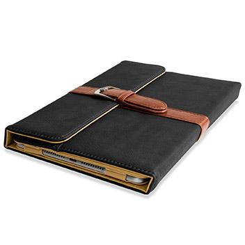 Olixar Vintage iPad Mini 4 Leather-Style Stand Case - Black