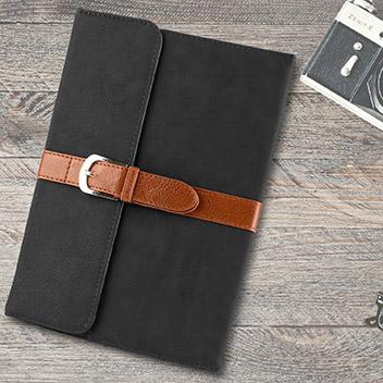 Funda iPad Mini 4 Olixar Vintage Tipo Cuero con Soporte - Negra