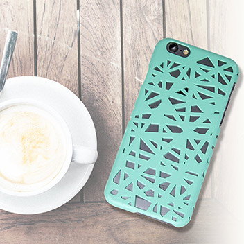 Olixar Maze Hollow iPhone 6S / 6 Case - Mint Green