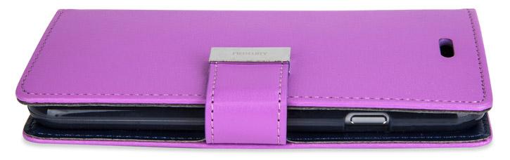 Mercury Rich Diary iPhone 6S Plus / 6 Plus Wallet Case - Purple