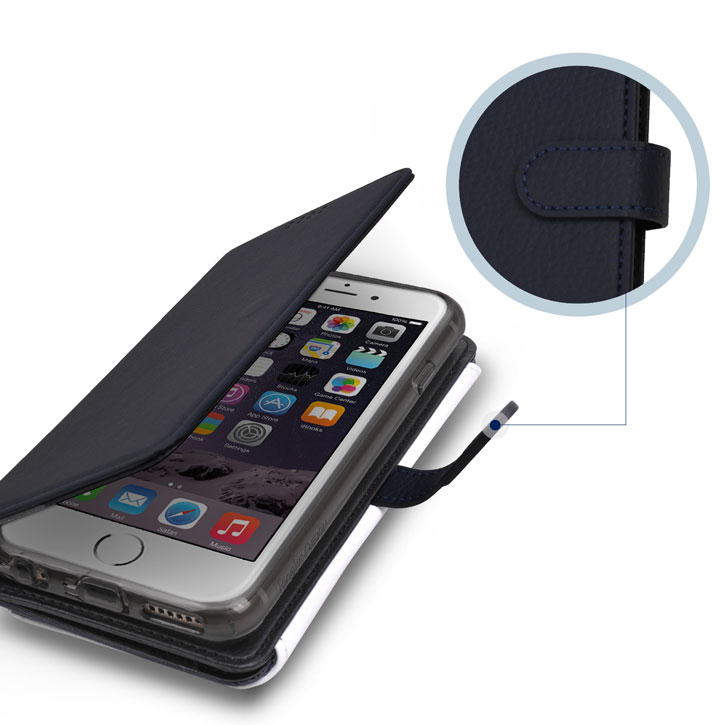Rearth Ringke iPhone 6S / 6 Leather-Style Wallet Case