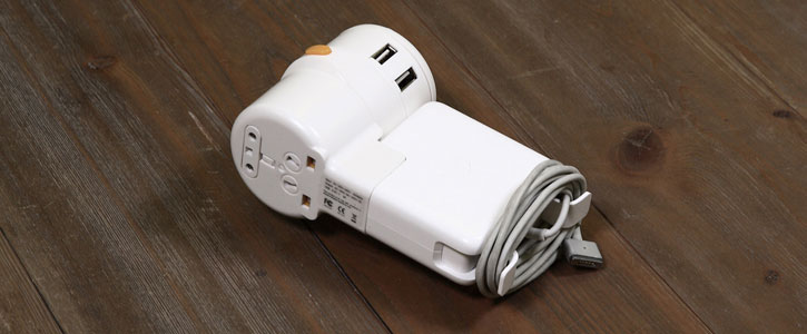 Twist Plus+ World Charging Station & 20W USB & Mac Power Adapter