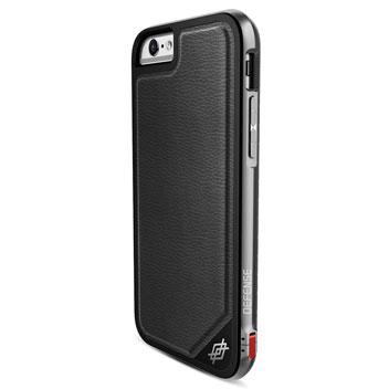X-Doria Defense Lux iPhone 6S / 6 Tough Case - Black Leather