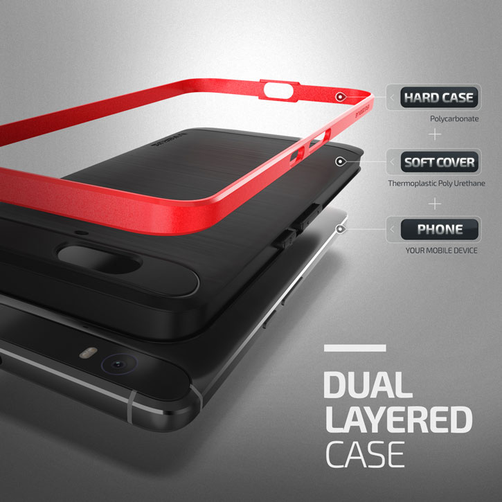 Verus High Pro Shield Series Nexus 6P Case - Crimson Red