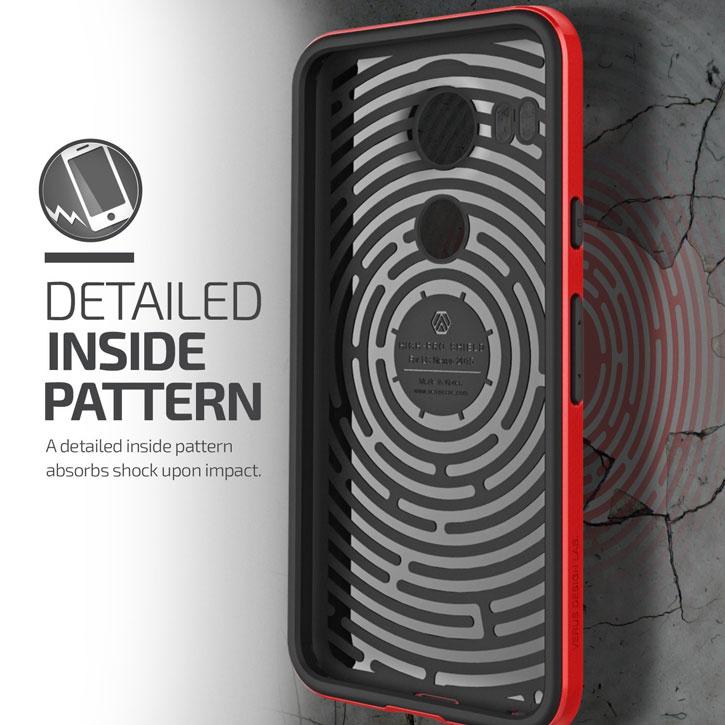 Verus High Pro Shield Series Nexus 5X Case - Crimson Red