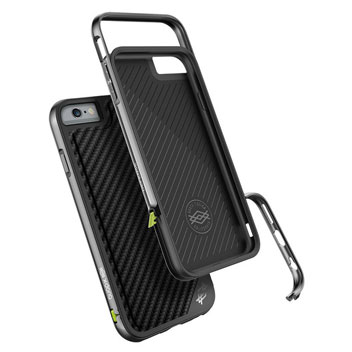 X-Doria Defense Lux iPhone 6S Plus / 6 Plus Tough Case - Black Carbon