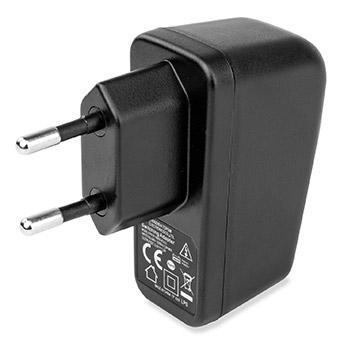 aircharge Slimline Qi Wireless Charging Pad and EU Plug - White