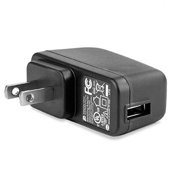 aircharge Slimline Qi Wireless Charging Pad and US Plug - White