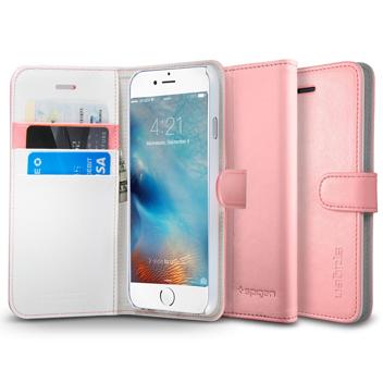 Spigen iPhone 6S Wallet S Case - Rose Gold