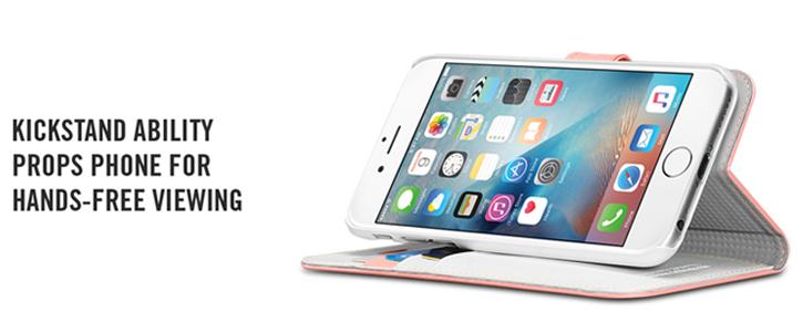Spigen iPhone 6S Plus Wallet S Case - Rose Gold