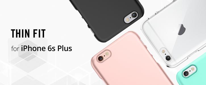 Spigen Thin Fit iPhone 6S Plus / 6 Plus  Shell Case - Rose Gold