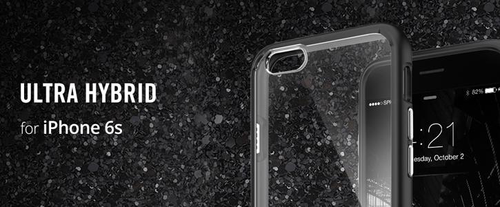 Spigen Ultra Hybrid iPhone 6S / 6 Bumper Case - Rose Crystal