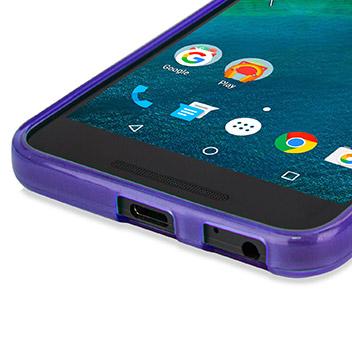 FlexiShield Nexus 5X Gel Case - Purple