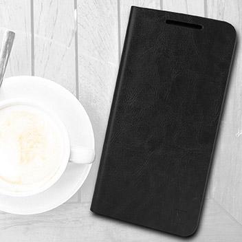 Olixar Leather-Style Nexus 5X Wallet Stand Case - Black