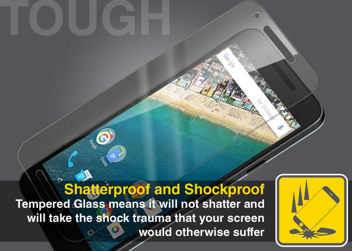 Olixar Nexus 5X Tempered Glass Screen Protector