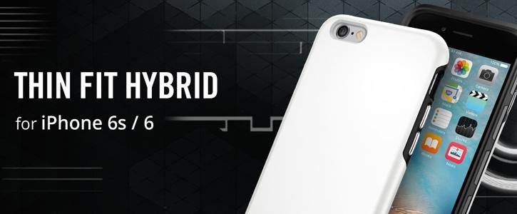 timeless design d93dc c51e7 Spigen Thin Fit Hybrid iPhone 6S Plus / 6 Plus Shell Case - Rose Gold