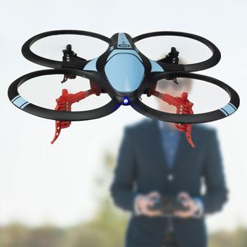 Drone Quadcopter Arcade Orbit 6-Axes