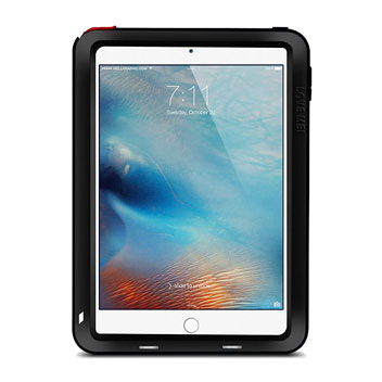 Love Mei Powerful Apple iPad Mini 4 Protective Case - Black