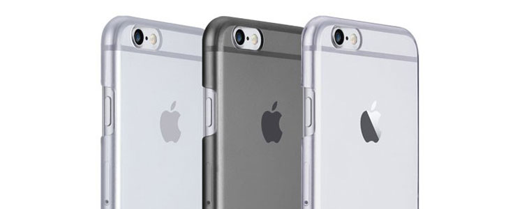 Just Mobile TENC Self-Healing iPhone 6S Plus / 6 Plus Case - Smoke Black