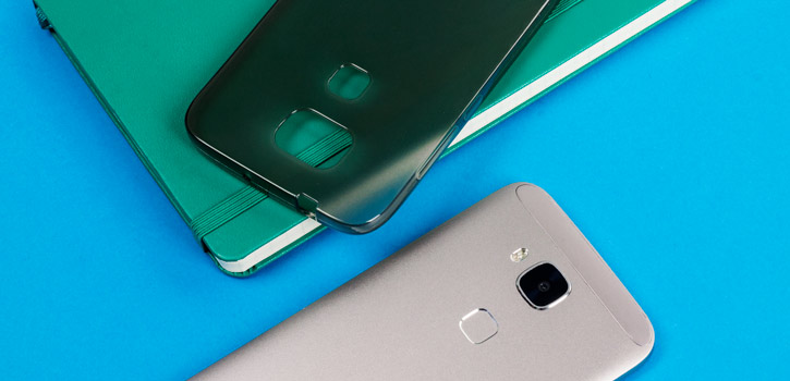 FlexiShield Huawei G8 Gel Case - Smoke Black