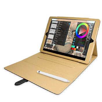 Olixar iPad Pro Vintage Stand Smart Case - Black