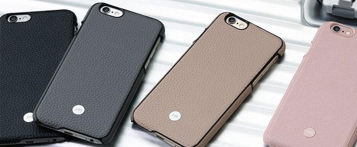 Just Mobile Quattro Genuine Leather iPhone 6S / 6 Case - Beige