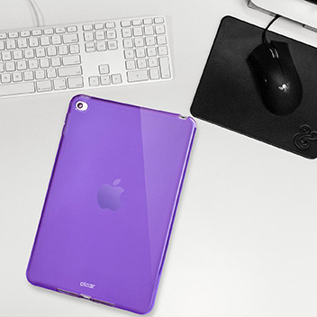 FlexiShield iPad Mini 4 Gel Case - Purple