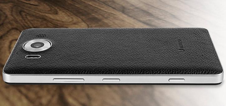 Mozo Microsoft Lumia 950 Wireless Charging Back Cover - Black