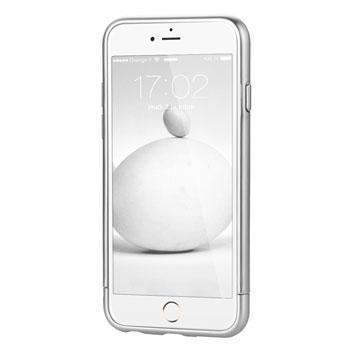 Prodigee Sparkle Fusion iPhone 6S Plus / 6 Plus Glitter Case - Silver
