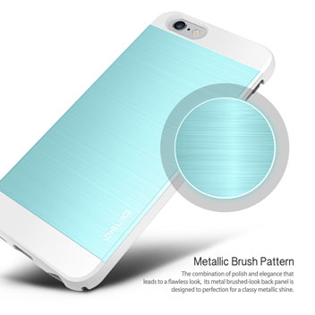 Obliq Slim Meta II Series iPhone 6S Plus / 6 Plus Case - Blue / White