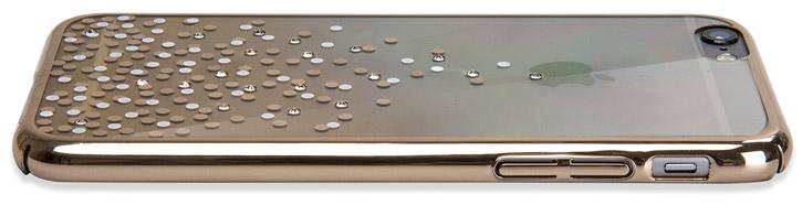 Unique Polka 360 iPhone 6S / 6 Case - Champagne Gold