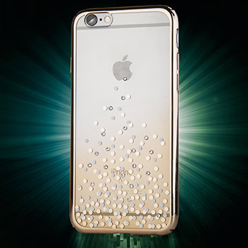 Unique Polka 360 iPhone 6S / 6 Case - Champagne Gold