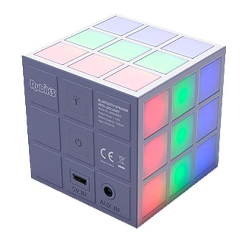 Rubiks Cube Dancing LED 360 Lightshow Bluetooth Speaker