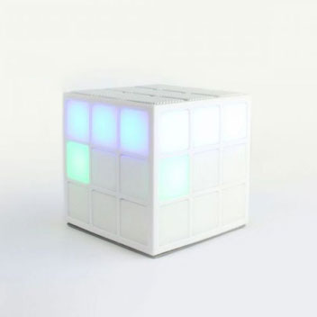 Rubiks Cube Dancing LED Bluetooth Speaker