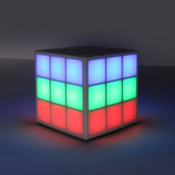 Rubiks Cube Dancing LED Bluetooth Speaker