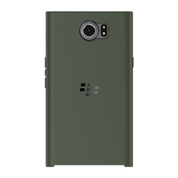 Official BlackBerry Priv Slide-Out Hard Shell Case - Green