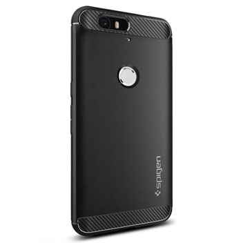 Spigen Rugged Armor Nexus 6P Tough Case - Black