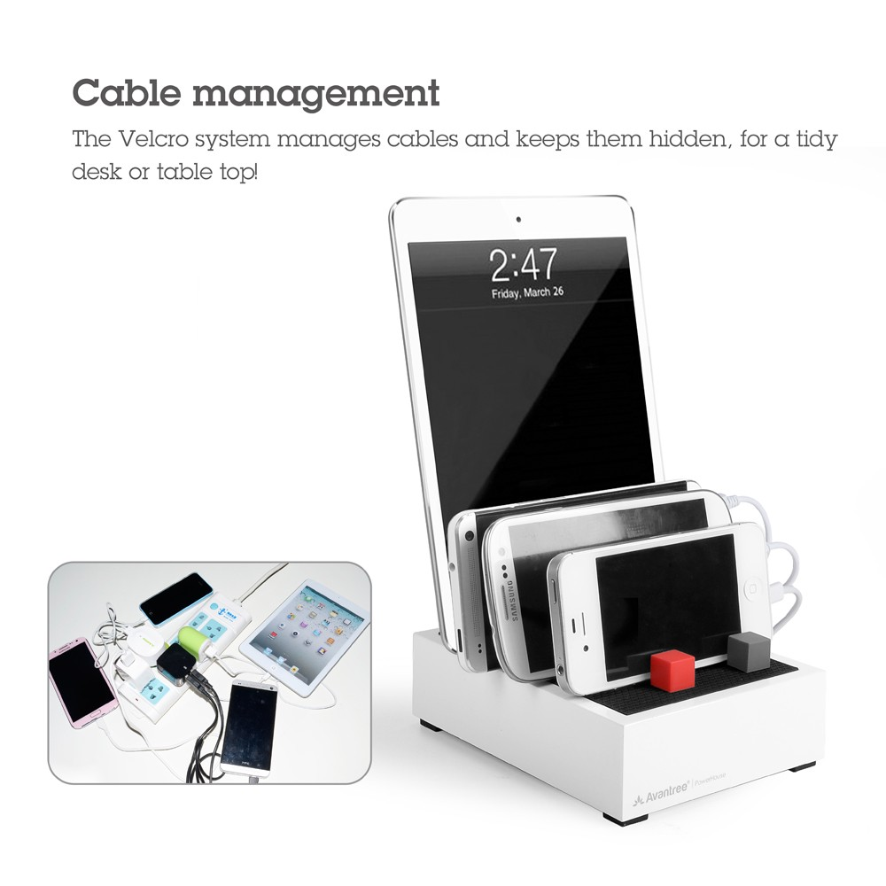 Avantree PowerHouse Plus Desk USB Charging Station