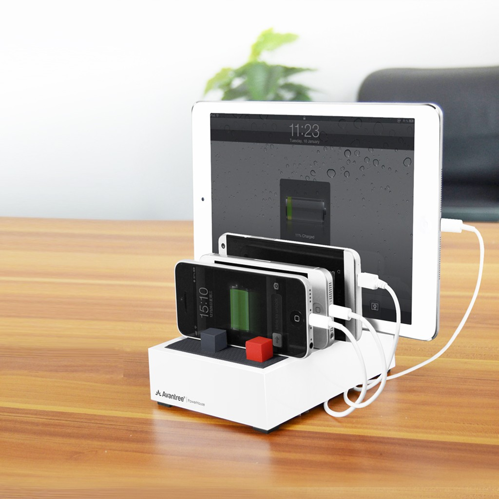 Avantree PowerHouse Plus Desk USB Charging Station