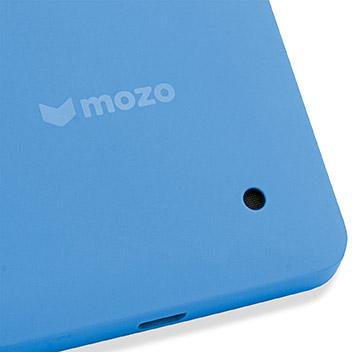 Mozo Microsoft Lumia 550 Back Cover Case - Blue