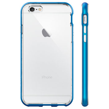 Spigen Neo Hybrid Ex iPhone 6S / 6 Bumper Case - Electric Blue