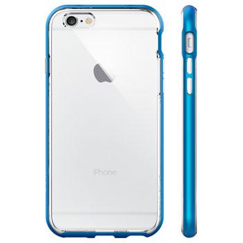 Spigen Neo Hybrid Ex iPhone 6S / 6 Bumper Case - Electric Blue