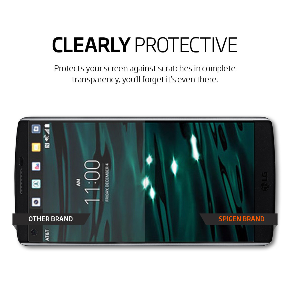 Spigen Crystal LG V10 Screen Protector
