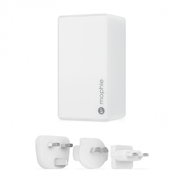 Mophie Dual USB Wall Charger 4.2A - White