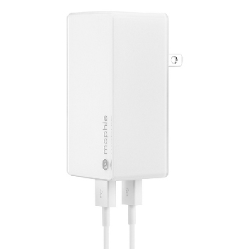 Universal 2.1A Dual USB Mains Charger - Twin Pack