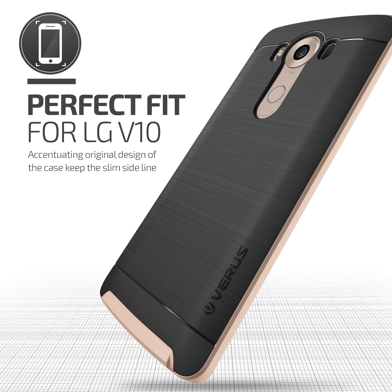 finest selection f9072 34887 Verus High Pro Shield Series LG V10 Case - Shine Gold