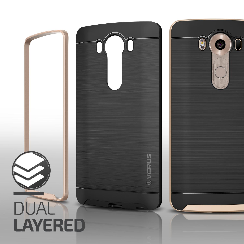 finest selection 37e15 3abe8 Verus High Pro Shield Series LG V10 Case - Shine Gold
