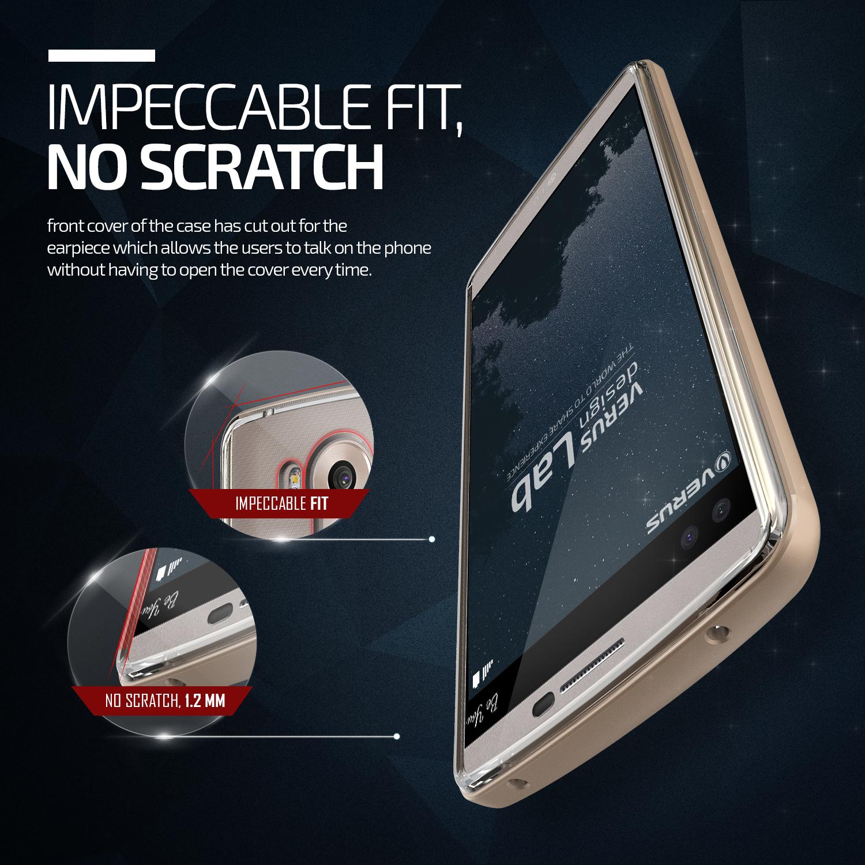 Verus Crystal Bumper LG V10 - Shine Gold