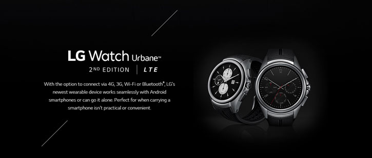 LG Watch Urbane 2nd Edition for Android and iOS Smartphones