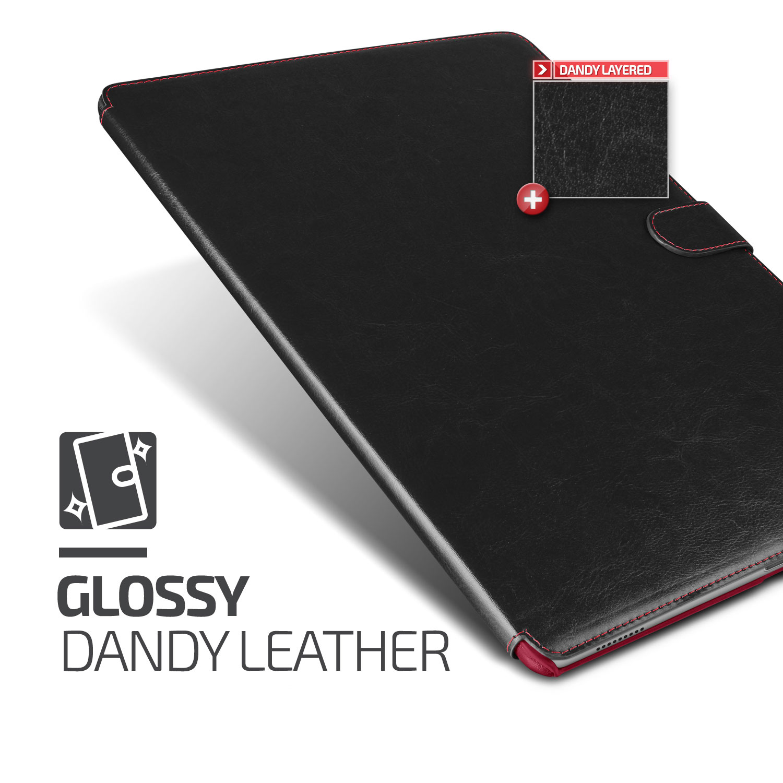 Verus Dandy Leather-Style iPad Pro Case - Black